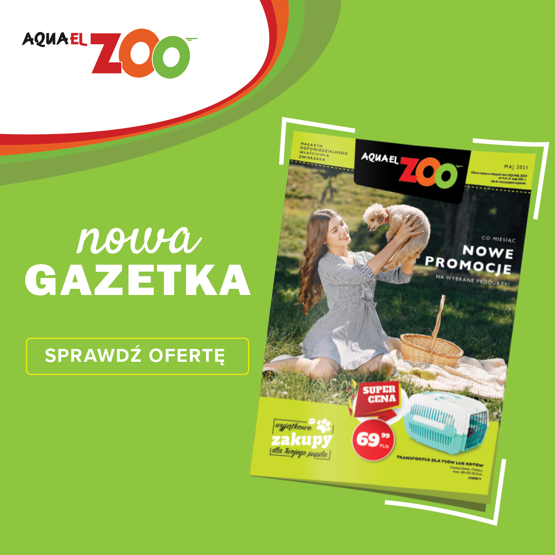 Aquael Zoo Gazetka MAJ
