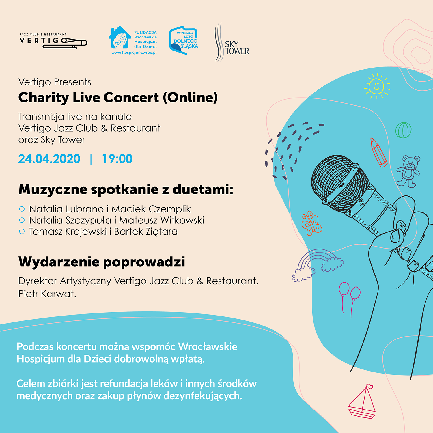 Vertigo Presents: Charity Live Concert
