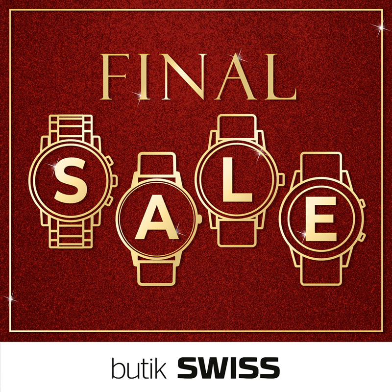 FINAL SALE w butikach SWISS!